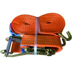 The STRAP WITH RATCHET PROFESSIONAL CAPACITY 5 TON STRAP VIGOR BY MM. 50 x 8.5 mt.