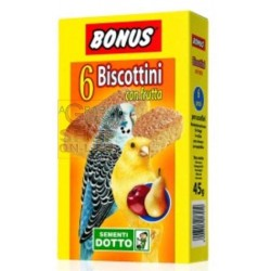 BONUS BISCUITS FOR BIRDS WITH FRUIT PIECES. 6