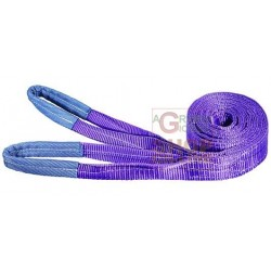 WRAP THE ROPE TWO LAYERS VIGOR CAPACITY 3 TONS MM. 90 MT. 8