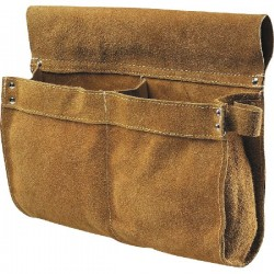 BORSA PER CARPENTIERE TOP 2 TASCHE CROSTA GIALLA