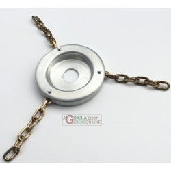 BROGINO DISC FOR BRUSH CUTTER FALCIATUTTO ALUMINIUM WITH 3 CHAINS AND 5 LINKS