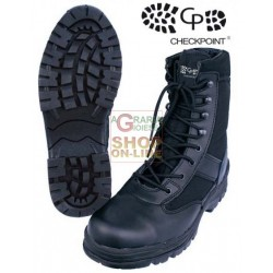 BUCHNER BOOTS TREKKING HIGH BLACK WITHOUT TOE CAP SIZE FROM 39 TO 46