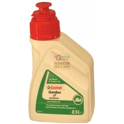 CASTROL GARDEN SYNT 2T SYNTHETIC OIL FOR 2-STROKE ENGINES LT. 0,500
