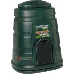 THE COMPOSTER COMPOSTER CONTAINER FOR COMPOSTING, A SINGLE BODY PLASTIC LT. 300