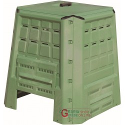 THE COMPOSTER COMPOSTER CONTAINER FOR COMPOSTING LT. 370 CM GREEN. 80X80X84