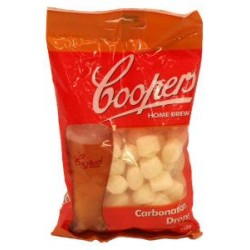 COOPERS DROPS TO CARBONATE...