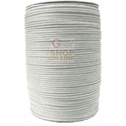 DRAWSTRING POLYPROPYLENE MM. 3 WHITE ADAPTABLE AS FISHING EQUIPMENT-MT. 500