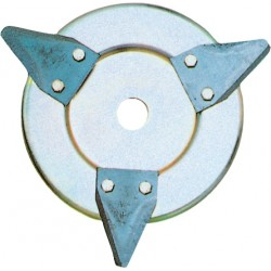DISC MOWERS 3 BLADES REPLACEABLE