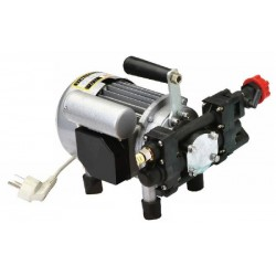 ELECTRIC PUMP FOR SPRAYING IRRO 15-25BAR 220 VOLT CONNECTIONS WITHIN THE 750 WATT
