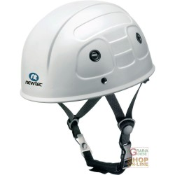 PROTECTIVE HELMET IN ABS WITHOUT VISOR WITH CHIN STRAP, POLYAMIDE, AND FASCIA