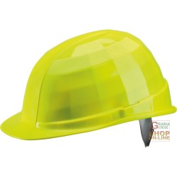 HELMET DIELECTRIC 1000 V WITH SWEATBAND NEON YELLOW COLOR