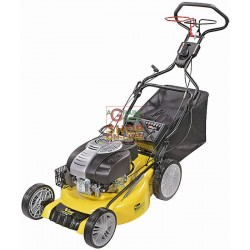 LAWN MOWER INTERNAL COMBUSTION VIGOR FOUR TIMES WR-60050 OHV SELF-PROPELLED, PULLED, AND MULCHING HP. 6