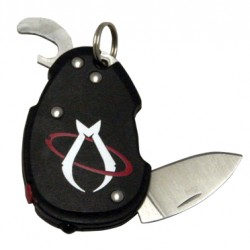 MANTIS KNIVES KEYCHAIN WITH STEEL BLADE AND bottle OPENER MKN B3