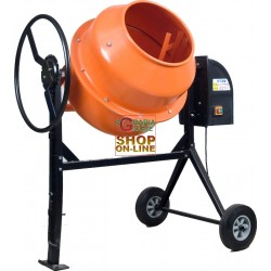 VIGOR CEMENT MIXER ELECTRIC MOD. 130 550W 125 LITERS 220V LT. 125 WITH WHEELS