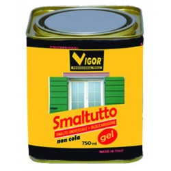 SMALTO ANTIRUGGINE SMALTUTTO GEL 1004 GIALLO ML. 750