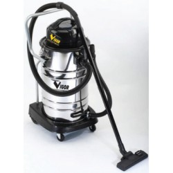 VIGOR CANISTER VACUUM CLEANER VACUUM CLEANER SOLIDS AND LIQUIDS VBA-50L STAINLESS STEEL