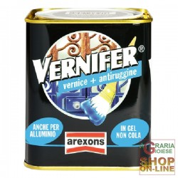 VERNIFER PAINT TO GEL WITH ANTI-RUST PAINT BRILLIANT WHITE ML. 750