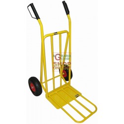 VIGOR CART FOLDING CRATE HOLDER SHOVEL FOLDING WHEELS INFLATABLE KG.150