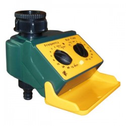 FERRARI TIMER CONTROLLER FOR IRRIGATION EASY PROGRAMMING CONNECTION 1 IN. WITH REDUCTION 3/4