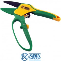 SCISSORS FOR PRUNING A RATCHET AND RACK WITH GUARD KUNZI KGR 3131
