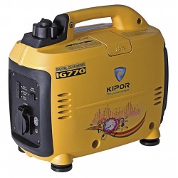GENERATOR INVERTER KIPOR IG770 WATTS 770 PORTABLE FOUR-STROKE RV MARKETS AND STREET VENDORS