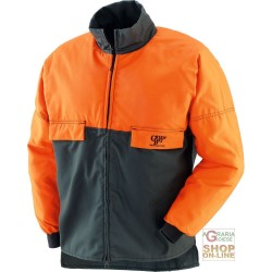 JACKET IN COTTON AND POLYESTER, FOR USE WITH CHAIN SAWS TG M-L-XL-XXL-XXXL