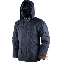 JACKET COTTON POLYESTER AND PADDED IN POLYESTER COLOR BLUE TG S M L XL XXL