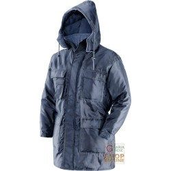 JACKET INSULATED 100% POLYESTER COLOR BLUE EN 342 TG S-M-L-XL-XXL
