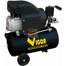 VIGOR COMPRESSOR 220V 1 CYL.DIRECT HP.1.5 LT. 24 56350-12/8