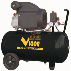 VIGOR COMPRESSOR 220V 1 CYL.DIRECT HP.2 LT. 50 56350-20/3