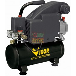 VIGOR COMPRESSOR PORTABLE ELECTRIC LT. 8 HP 1
