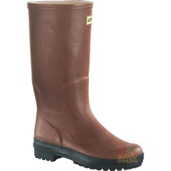 KNEE-LENGTH RUBBER OUTSOLE TANK BROWN TG 39 47 ECONOMIC MODEL