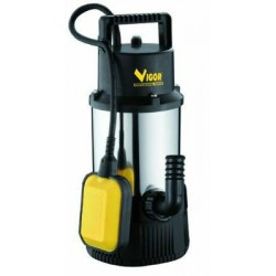 VIGOR SUBMERSIBLE PUMP STAINLESS STEEL 1100 AUTOMATIC 1-1/4 IN. M