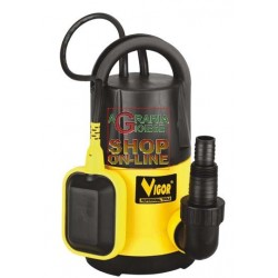 VIGOR ELECTRIC PUMP SUBMERGED SUB 005 AUTOMATIC 1-1/2