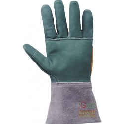 GLOVE FLOWER CRUST SLEEVE CM 15 PARANOCCHE SEAMS FIBRE WITH THE BRAND NAME KEVLAR