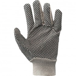 GLOVE CANVAS COTTON POLKA DOTTED