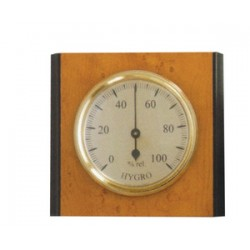 HYGROMETER IN WOOD CM.9,5X8,5 ART. 301341