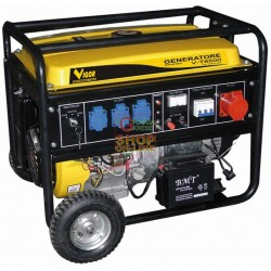 VIGOR GENERATOR CURRENT FOUR-STROKE 220V - 380V T-6500 KVA 5.5 HP. SINGLE-PHASE THREE-PHASE