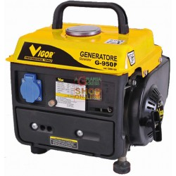 VIGOR GENERATOR G-950 POWER 220V 700 WATT COOPER WINDING COPPER