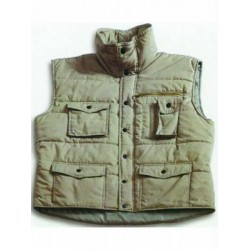 VIGOR PADDED GILET GREEN