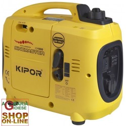 KIPOR GENERATOR INVERTER KAMA IG1000 FOUR TIMES WATTS. 1000 FOR RV CAMPING VENDORS