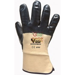 VIGOR GLOVES HY-67 WRIST SAFETY EC-2, SIZE L