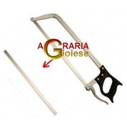 REPLACEMENT BLADE FOR SAW BUTCHER, STAINLESS STEEL, WITH QUICK-CM. 43