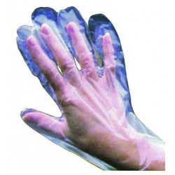 VIGOR GLOVES POLYETHYLENE, DISPOSABLE, 100 PIECES MIS. ONLY
