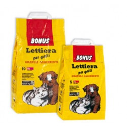 CAT LITTER BONUS FROM KG.10