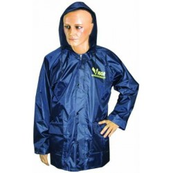 VIGOR WATERPROOF, TEAR-PROOF, BLUE POLYESTER/PVC