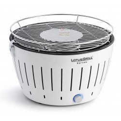 LOTUSGRILL LOTUS GRILL BBQ TABLE PORTABLE EXTERNAL WHITE