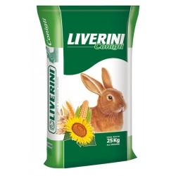 FEED RABBITS FOR BREEDING AND RABBITS, WITH COCCIDIOSTAT KG. 25
