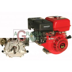 GASOLINE ENGINE TYPE HORIZONTAL HP. 9 CYLINDRICAL RECOIL STARTER