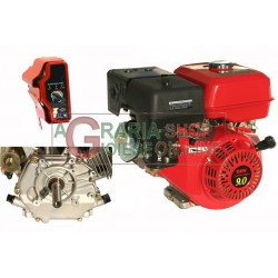 GASOLINE ENGINE TYPE HORIZONTAL HP. 9 CYLINDRICAL ELECTRIC START